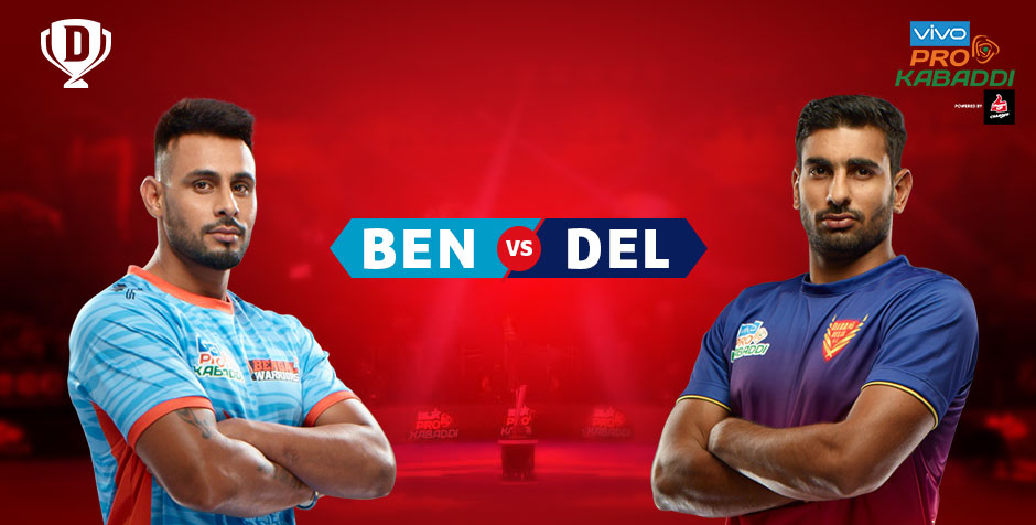 Bengal Warriors vs Dabang Delhi