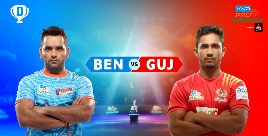 Bengal Warriors vs Gujarat Fortunegiants