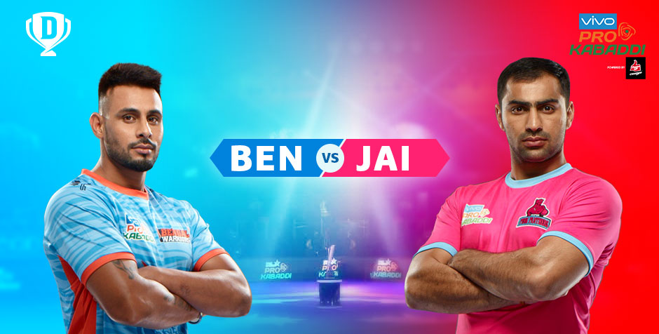 Bengal Warriors vs Jaipur Pink Panthers