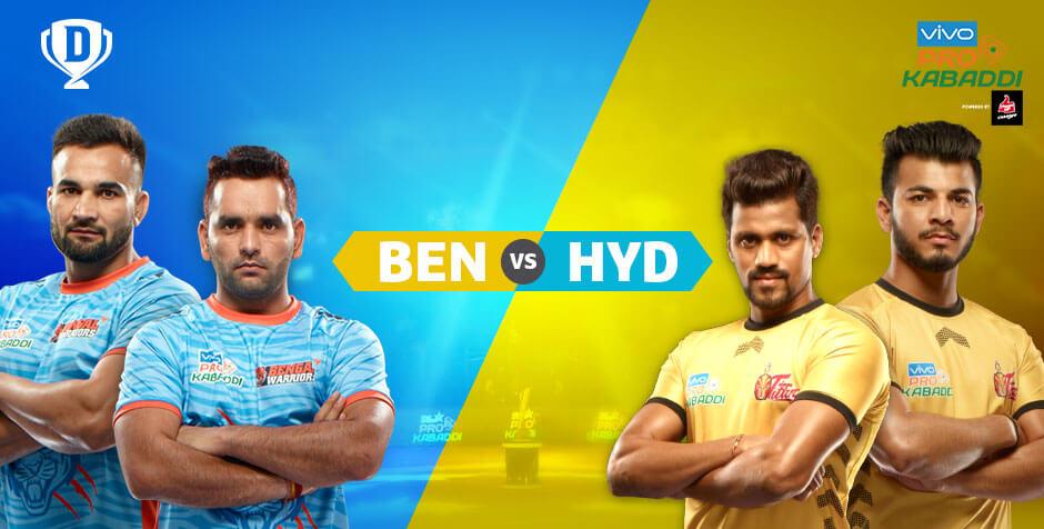 Bengal Warriors vs Telugu Titans