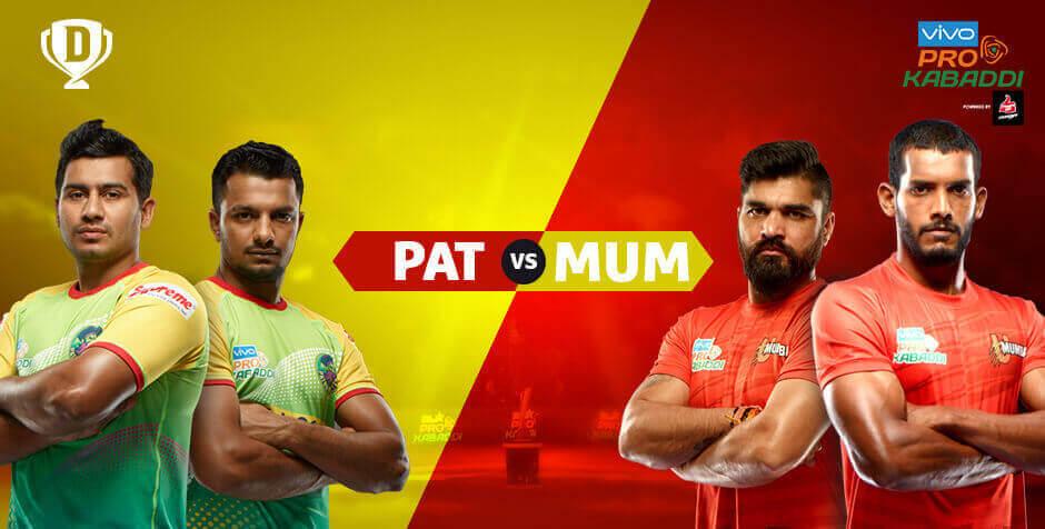 Patna Pirates vs U Mumba