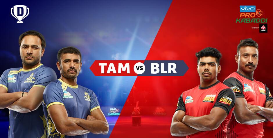 Tamil Thalaivas Vs Bengaluru Bulls