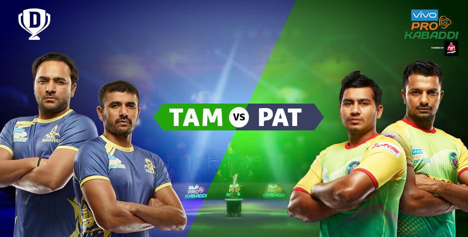 Tamil Thalaivas vs Patna Pirates