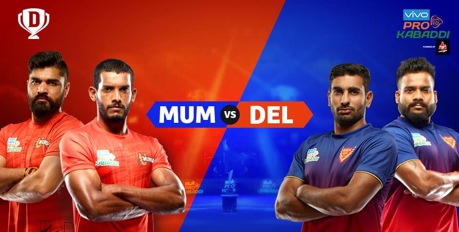 U Mumba vs Dabang Delhi