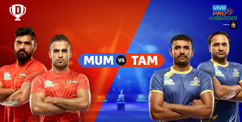 U MUMBA VS Tamil Thalaivas