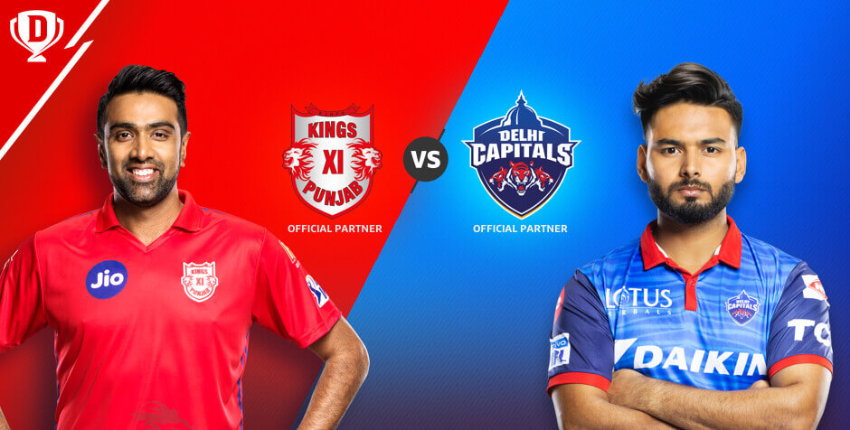 KINGS XI PUNJAB VS DELHI CAPITALS