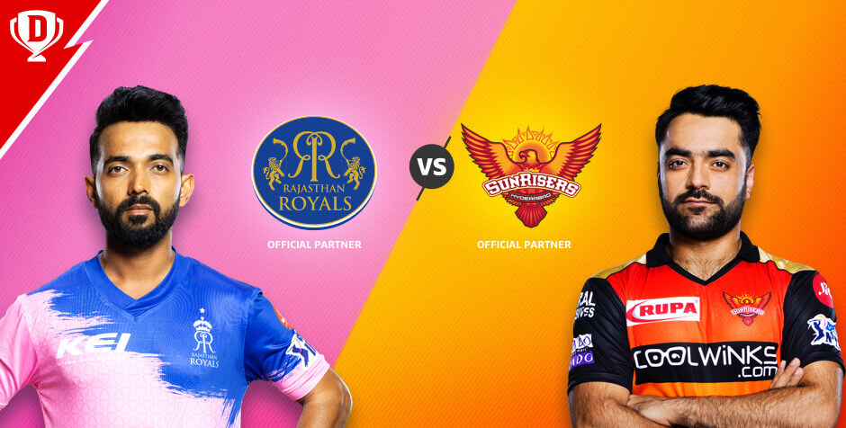RAJASTHAN ROYALS VS SUNRISERS HYDERABAD