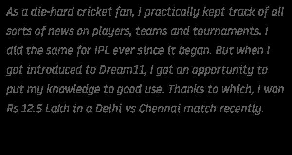 Play Fantasy Cricket & Fantasy Leagues Online - DREAM11